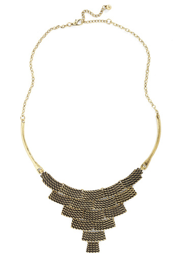 Newsworthy Style Necklace - Gold, Chain