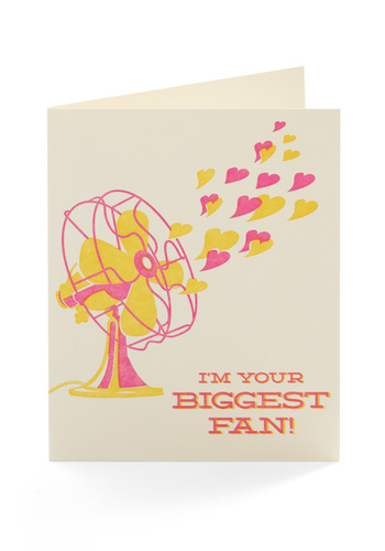 Keep Your Cool Valentine - Cream, Yellow, Pink, Novelty Print