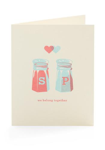 Savor the Moment Valentine - Cream, Blue, Pink, Novelty Print