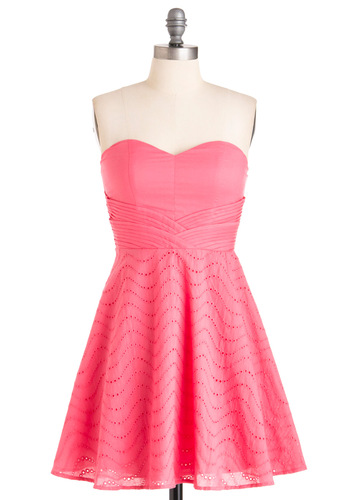 5 Pink Valentine's Day Dresses from Modcloth