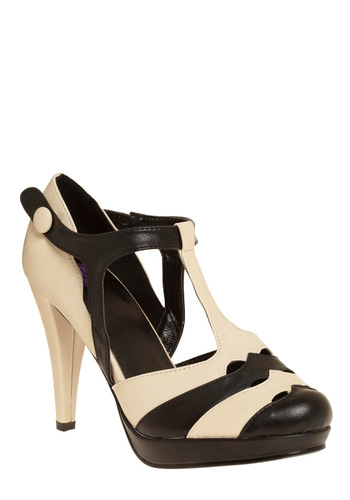 Pros and Contrast Heel - 60s, Wedding, Steampunk, Platform, High