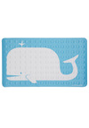 Sing and Spout Tub Mat by Kikkerland - Blue, Print with Animals, Dorm Decor, Nautical, White, Good