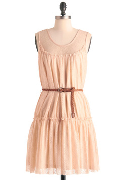 Peach Me I'm Dreaming Dress