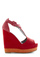 Rock Around the Colorblock Wedge