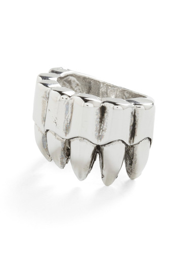 Looking Sharp Ring - Silver, Statement