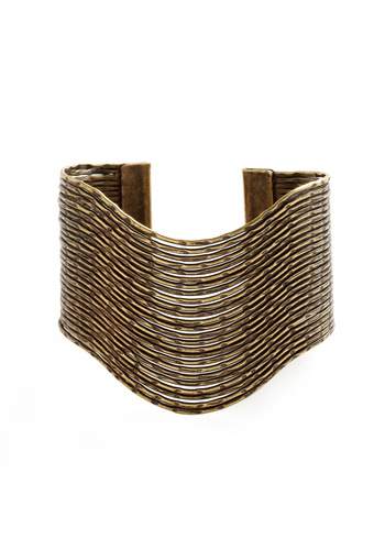 Cuff Luck Bracelet - Gold, Boho
