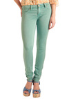 Bookish Babe Jeans in Aqua by Blank NYC - Long, Casual, Urban, Green, Solid, Denim