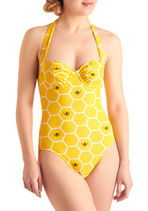 image of Beach Honeycomber One Piece
