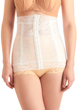 Wearer's Pride Waist Corselet in White