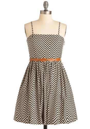 You're a Vision Dress - Short, Black, Print, A-line, Spaghetti Straps, Statement, White, Braided, Pockets, Casual, Mini