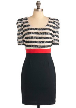 Stripe Place, Stripe Time Dress