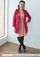 Femme in Fuchsia Coat