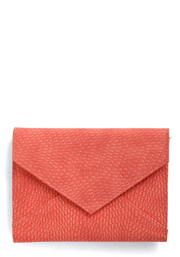 Reef It to Me Wallet - Casual, Vintage Inspired, Orange, Solid
