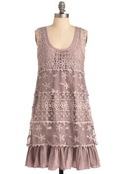 On the Mauve Dress