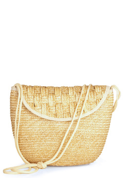 Vintage Crisscross the Water Shoulder Bag