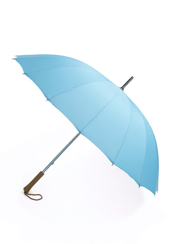Sky Love the Rain Umbrella - Blue, Solid, Spring