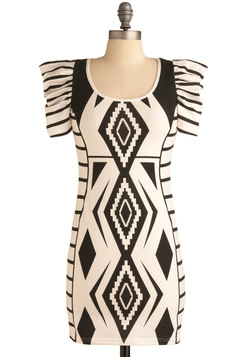 Gregarious Geometry Dress $58.99
