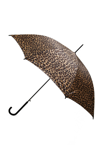 Spotty Weather Umbrella - Multi, Animal Print, Brown, Black, Travel