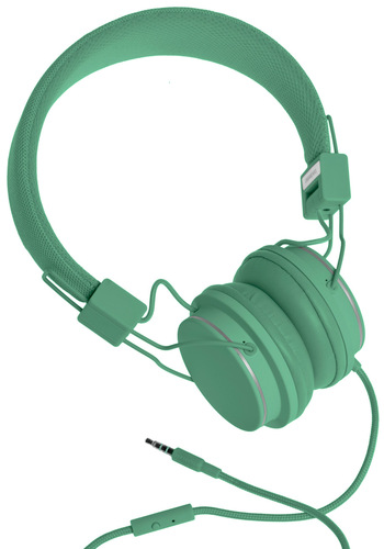 Thoroughly Modern Musician Headphones in Sage by Urbanears - Green, Solid, Dorm Decor