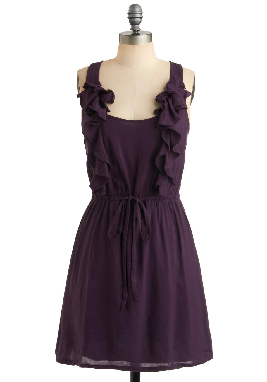 Royal ruffle dress mod retro vintage dresses for Cloth for wedding dresses