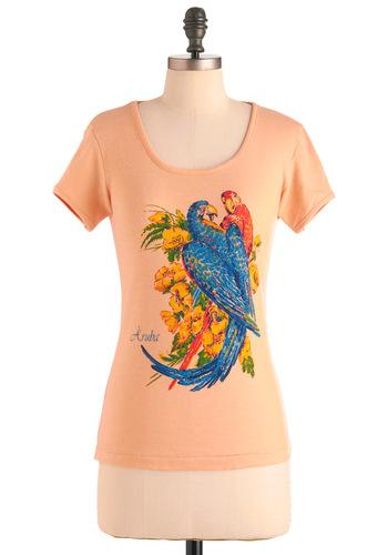 Vintage Parrot Top