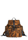 Backpack to the Wild - Urban, Orange, Black, Animal Print