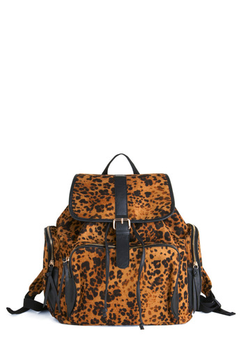 Backpack to the Wild - Urban, Orange, Black, Animal Print