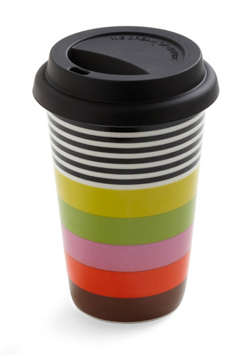 Color Me Cozy Travel Mug - Multi, Multi, Stripes