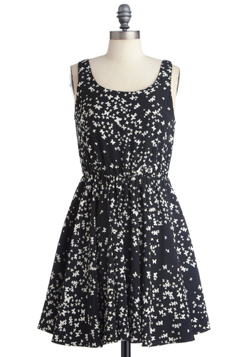 Smooth as Butterfly Dress