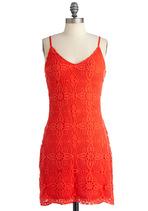 Orange Dresses - Make My Crochet Dress