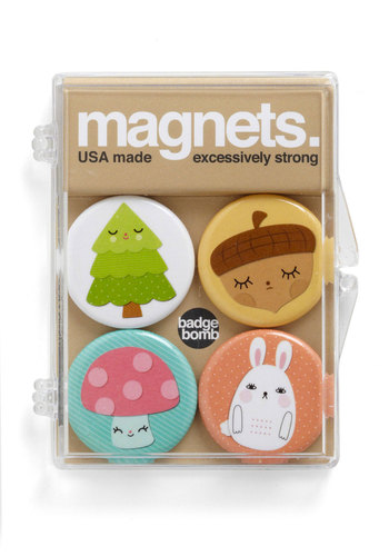 Pining for a Pal Magnet Set - Multi, Kawaii