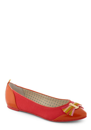 Divine and Dandy Flat by Poetic License - Red, Orange, Green, Pink, Bows