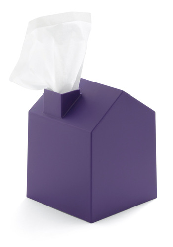 Nose Place Like Home Tissue Holder - Purple