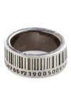 Up to Barcode Ring - Casual, Silver, Silver