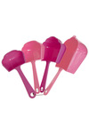 Sweeter When Specific Measuring Cups by Decor Craft Inc. - Pink