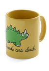 Cry-ceratops Mug - Yellow, Green, Black, Print with Animals, Exclusives, Eco-Friendly, Best Seller, Best Seller, Good