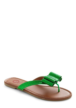Green Girl Squad Sandal