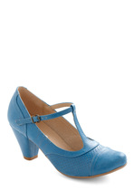 Heels - Just Like Honey Heel in Blueberry