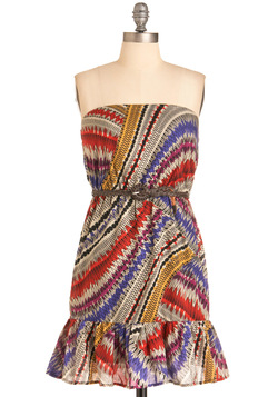 Kaleidoscope it Out Dress