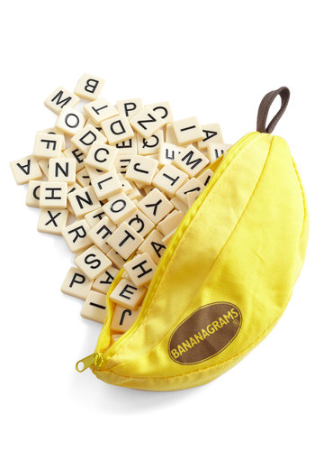 Bananagrams - Yellow, White, Fruits, Good, Top Rated