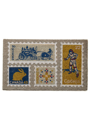 Home at Last Doormat in Delivered - Multi, Dorm Decor