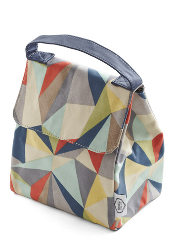 Graphic Diner Lunch Bag - Multi