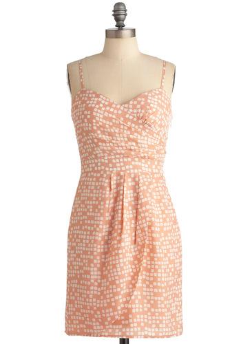 Marshmallow Village Dress