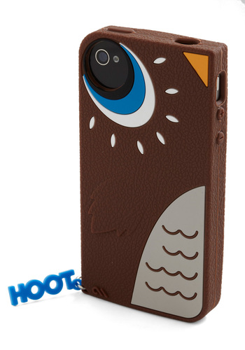 Owl Be Ringing You iPhone Case - Brown, Multi, Blue, Grey, White, Owls