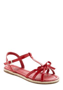 Liking Red Licorice Sandal