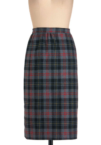 Vintage Outside the Classroom Skirt