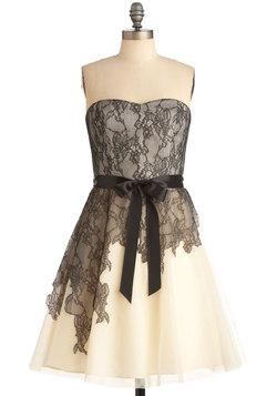 The Night's Scrim Dress