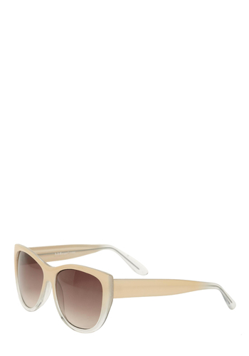 Make the Gradient Sunglasses - Cream, Casual, Spring, Summer