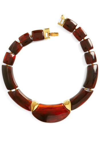 Vintage Amber Elegance Necklace