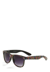 Just Add Sunshine Sunglasses - Multi, Black, Multi, Floral